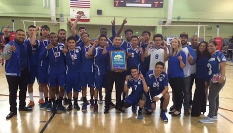 Congratulations to the Boys Volleyball Team! League Champions!